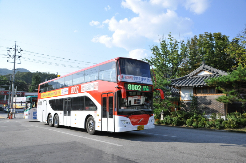 남양주 광역버스 모습