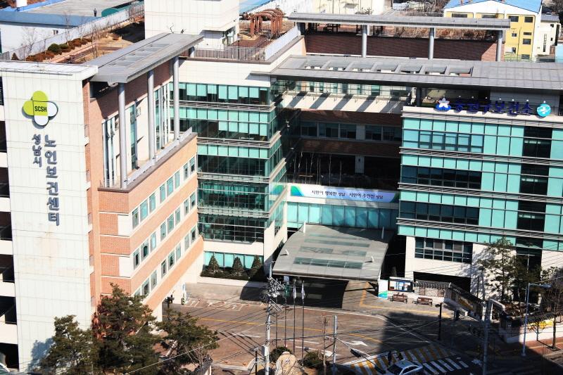 중원구보건소-성남시 노인보건센터 4층에는 리모델링해 개소하는 중원구보건소 치매안심센터가 있다