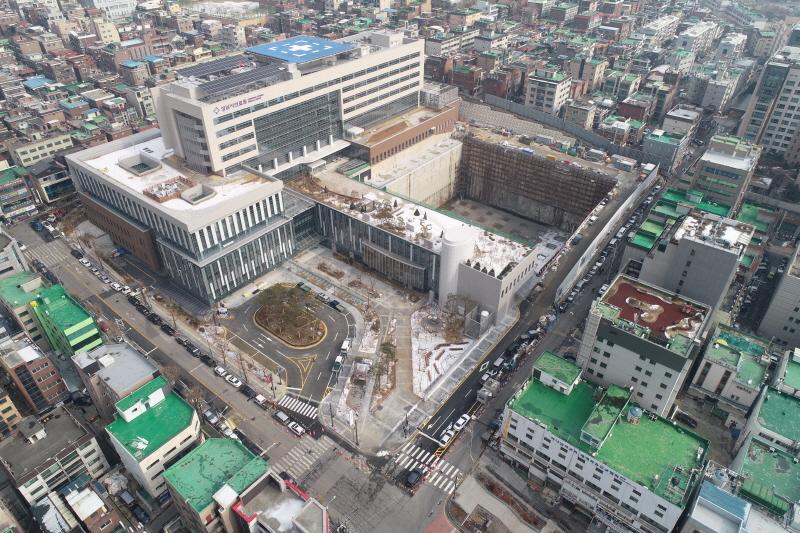 공공의료정책과-성남시의료원 앞 문화·의료시설 건립 터